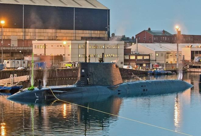 Audacious是为皇家海军建造的七艘敏锐级攻击潜艇中的第四艘(照片:皇家海军)
