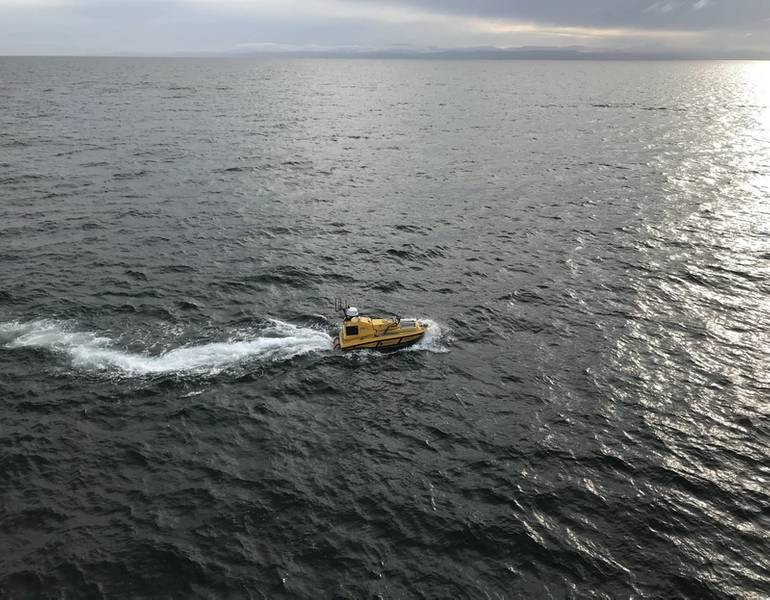BEN самостоятельно следует запрограммированным линиям (Фото: NOAA)
