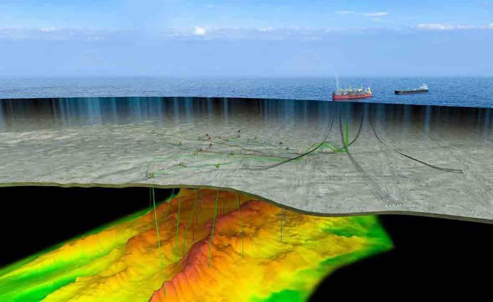 Bacalhau - первый в Бразилии интегрированный проект SPS и SURF (изображение: Equinor)