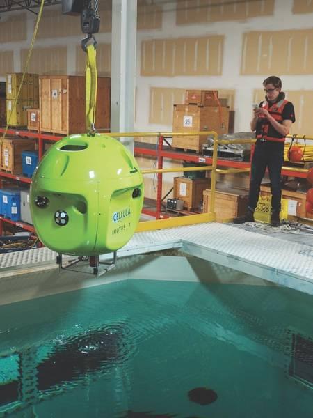 Cellula的Imotus水下飞行器。 (照片:Imotus)
