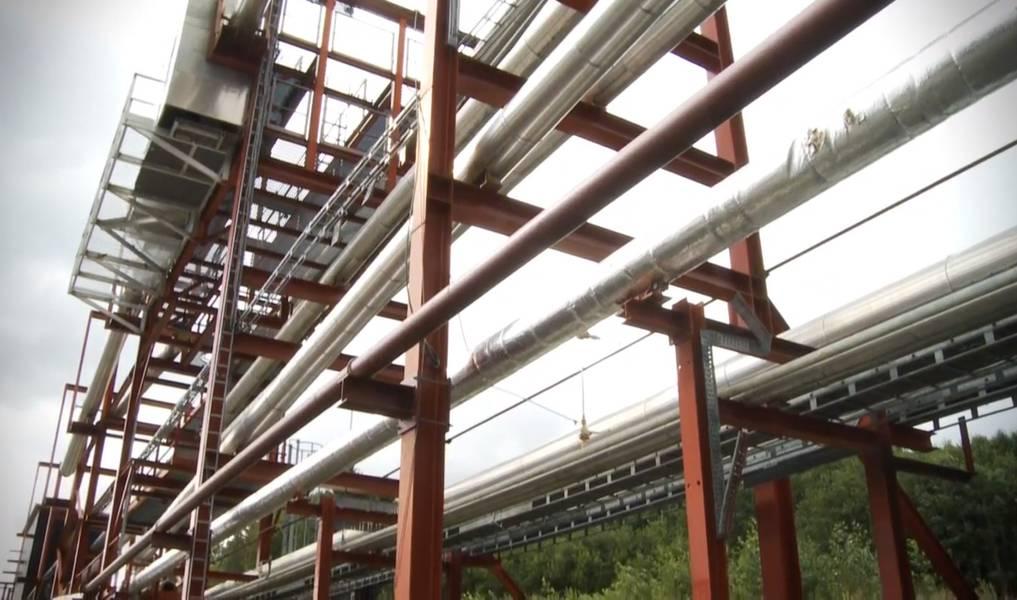Disponível: um loop de teste multifásico em larga escala. Crédito: captura de tela do vídeo SINTEF