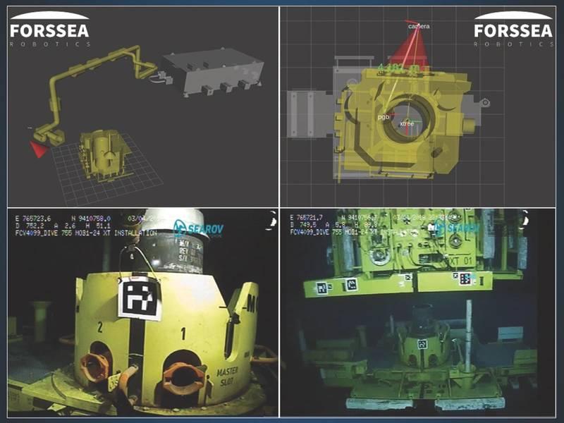 Forssea تطبيق رؤية الكمبيوتر والتعلم الآلي للعمليات تحت سطح البحر أسهل. (الصورة: فورسي)