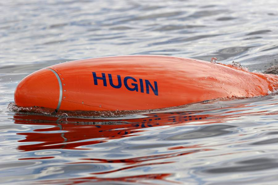 HUGIN AUV (Imagem: Kongsberg Maritime)