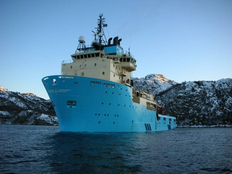 Maersk Launcher (Φωτογραφία: Υπηρεσία Προμηθειών Maersk)