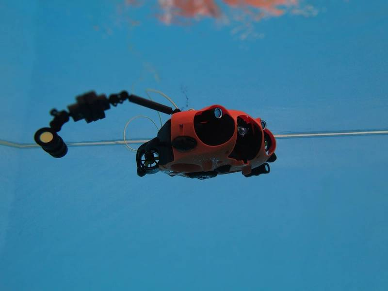 O Seasam AUV da NotiloPlus opera em todo o mundo. Foto de NotiloPlus.
