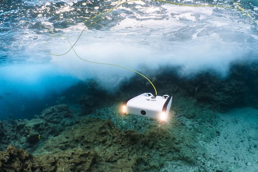 Um Trident ROV (crédito SOFAR Ocean)
