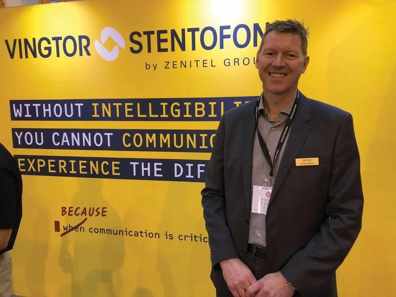 Zenitel集团首席执行官兼总裁Kenneth Dastol。照片:Greg Trauthwein