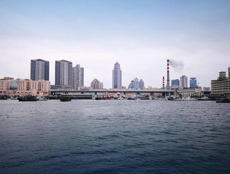 A infraestrutura em desenvolvimento - como o porto de Qingdao visto aqui - tem sido um componente essencial da revolução econômica da China. O perfil de corrente preciso tem sido vital para a implementação bem-sucedida de grandes projetos marítimos, garantindo que as estruturas sejam construídas de acordo com as especificações corretas. Imagem: Nortek