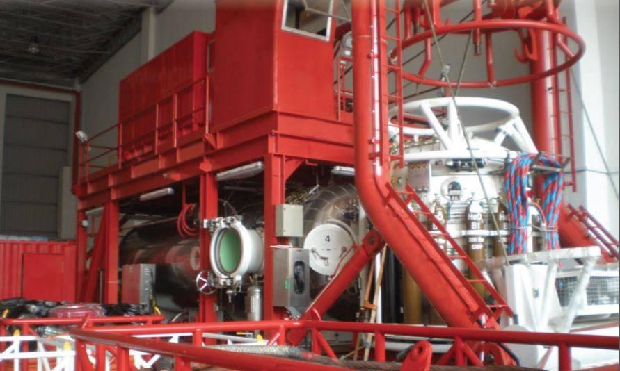 O sistema de mergulho SAT-14 (Foto: Hydra)