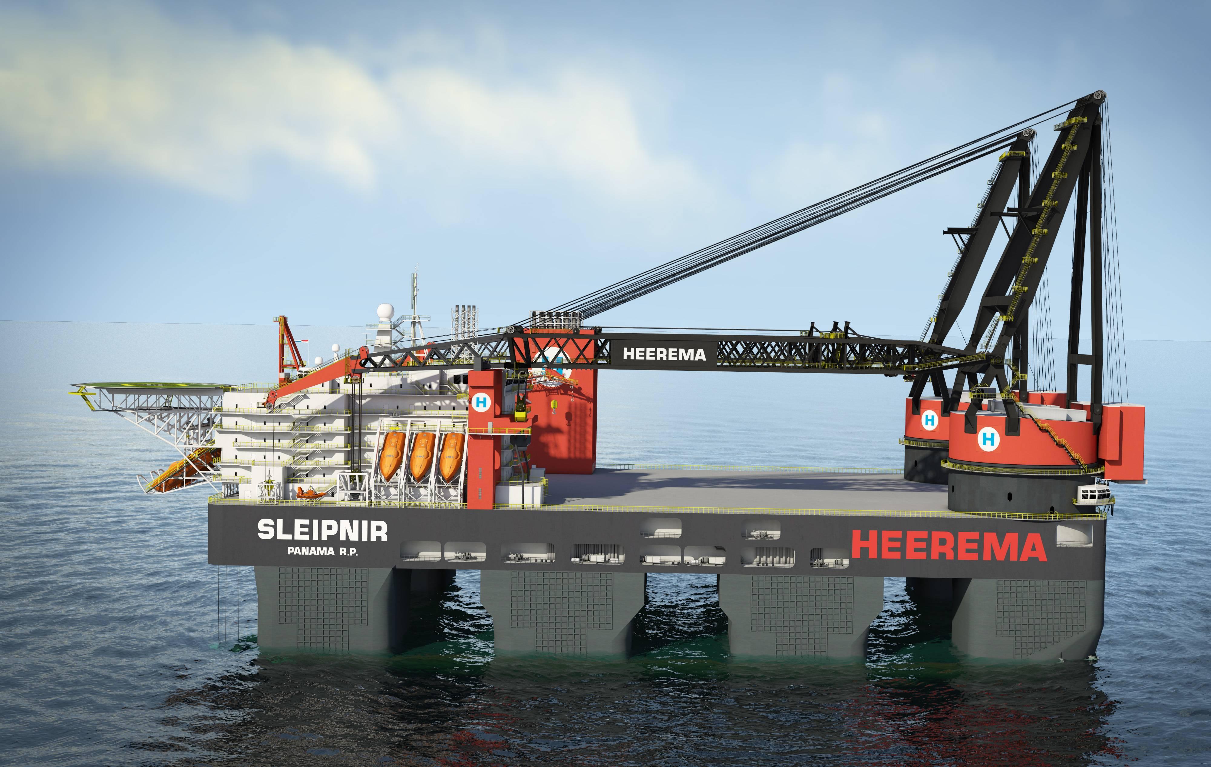 Heerema Wins Hollandse Kust Zuid Alpha Project