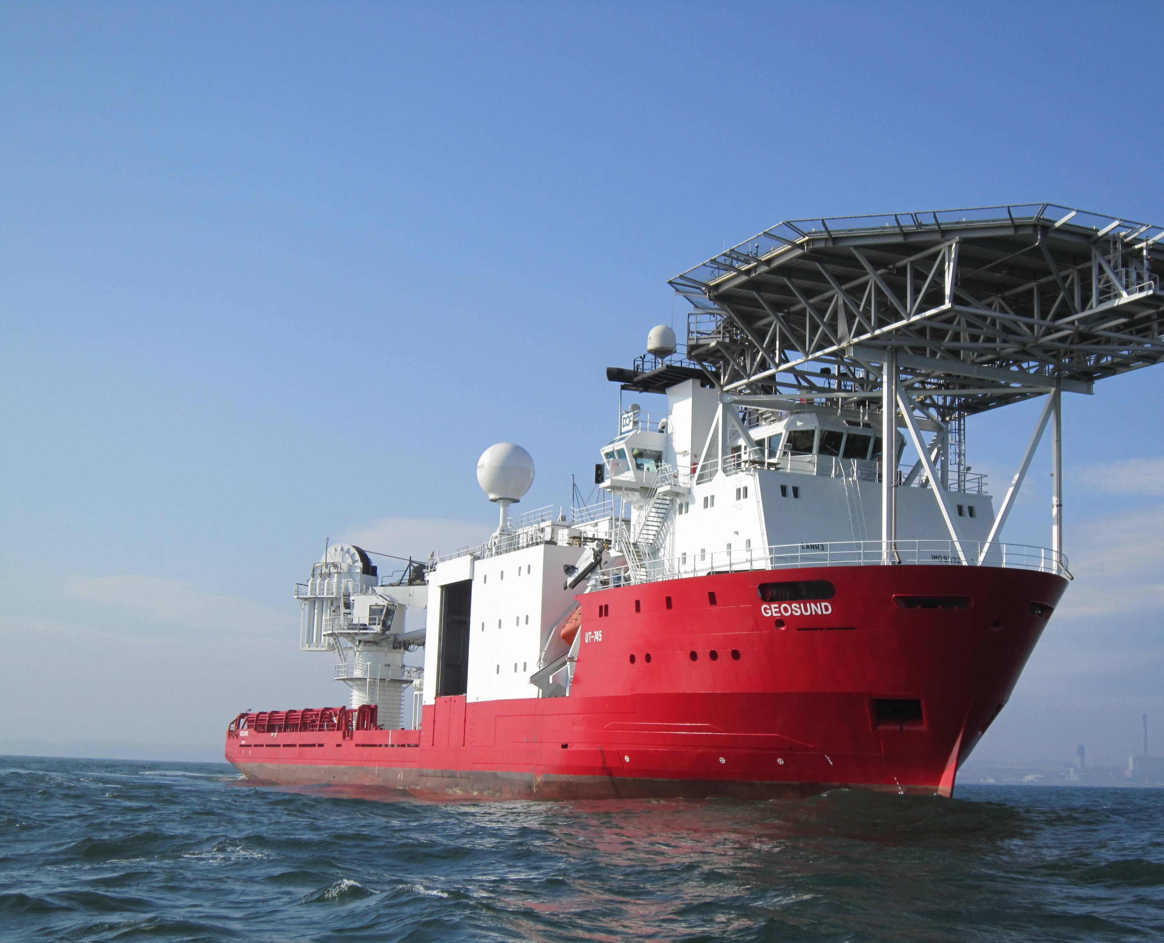 DOF Subsea Wins Pipeline Survey Contract