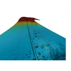 Image of pipeline on seabed acquired by AUV multi-beam echo sounder sensor. (Image: Swire Seabed)