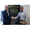 Neil Manning, COO of 3D at Depth with Jason French, Business Development Director of Asia Pacific, Subsea Technology & Rentals Australia PTY Ltd (Photo: 3D at Depth)