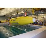 Hydroid's REMUS autonomous underwater vehicle. Photo courtesy of Hydroid
