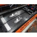 Ocean Infinity's Kongsberg Hugin AUVs powered by four, 20 kWh Kraken batteries for a total of 80 kWh per vehicle. (Photo: Kraken Robotics)