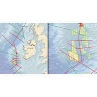 4,015 sq. km. regionally calibrated 3D, offshore Ireland
