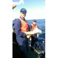Aboard 'Block Island': Photo credit USCG