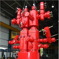 Aker splitter wellhead system (Photo: Aker Solutions)