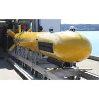 AquaPix INSAS system integrated into DRDC's Arctic Explorer AUV (Credit Kraken)