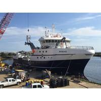 The new Araho. (Photo: Eastern Shipbuilding)