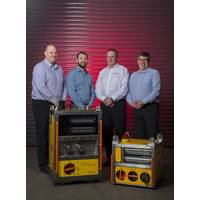 Ashtead's newly formed engineered measurement solutions group – (L to R) Mark Ellington, Scott Smith, Ross MacLeod, and Alistair Birnie. (Photo: Ashtead)