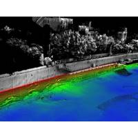 A Bathymetric LiDAR Survey of the Troy Seawall, as an example of a previous Bathymetric Survey conducted by H2H Engineering Geoscience in 2018, on behalf of FEMA and the City of Troy.