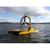 The ASV C-Enduro embarked on a robotics mission along with six other unmanned marine vessels off the southwest of England.