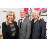 Cherry Paton, Innovation Park Estate Manager and 1CSI's founders, Aleksandra Tomaszek, Chief Operating Officer and Matthew Kennedy, Chief Executive Officer (Photo: 1CS1)