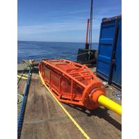 The completed SEA connection fully tested on deck ready for deployment (Photo: Cohort plc)