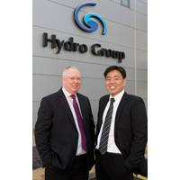 (L-R) Doug Whyte, Hydro Group managing director, and Steve Ang, Hydro Group Asia technical sales manager (Photo: Hydro Group)