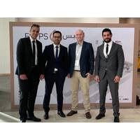 Drexel Crewing Manager Ahmed Abelnasser, Drexel Operations Manager Mahmoud Eissa, Rovco CEO Brian Allen, Drexel Business Development Manager Bassem Emam (Photo: Rovco)