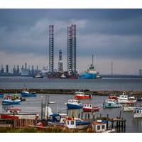 Energy Endeavour in River Tees:Credit Antony Fleming