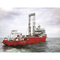 Fugro deploys deepwater geotechnical vessel Fugro Voyager for ONGC works offshore India's east coast (Photo: Fugro)