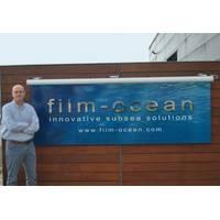 George Gair at Film-Ocean Ltd, Ellon, Aberdeenshire (Photo: Film-Ocean)