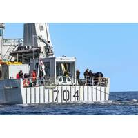 GeoSpectrum TRAPS onboard Canadian Navy's Kingston-class coastal defense vessel (Photo: Elbit Systems)