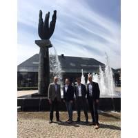 L-R: Gerard Keser, N-Sea CEO; Jochem Langenhuijzen, Bodac CEO; Paul van Waalwijk van Doorn, N-Sea General Manager; Dirk van de Vleuten, Bodac Manager  (Photo: N-Sea)