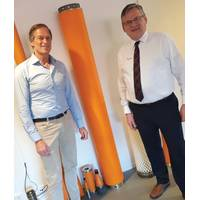 Henrik Andreasen and Bill Main (Photo: Balmoral Offshore Engineering)