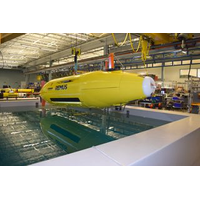 Hydroid's REMUS autonomous underwater vehicle. Photo courtesy of Hydroid