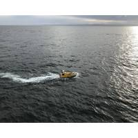 BEN independently follows programmed lines (Photo: NOAA)