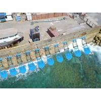 Jaffa Port floaters illustration. Image: ECO Wave Power