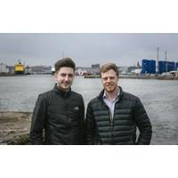 Jamie McCallum and Christer Fjellroth, have carried out a number of engineering studies in a bid to widen the remit of NSRI's initial oil and gas focus. (Photo: NSRI)