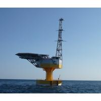 Japanese 66kv floating substation: Image credit MHI