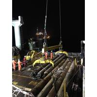 JFS's twin grab offshore equipment on back deck (Photo: James Fisher and Sons plc)