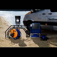 The latest generation of Sentinel underwater intruder detection system is now more portable (Photo: Sonardyne)