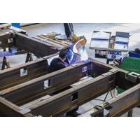 MacArtney welder works on MERMAC eA skid (Photo: MacArtney)