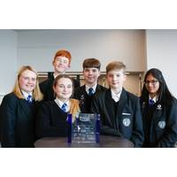 L-R Maddison Fleming, Keira-Mai Fenn, Connor Hazell, Lewis Burrell, Dylan Gooch, Prisha Brown (Photo: Subsea UK)