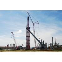Mammoet crane at Reficar Refinery, Cartagena, Colombia (Photo: Mammoet)