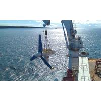 The Meygen tidal stream energy project is currently under construction off the coast of Scotland. By the early 2020s, MeyGen Limited intends to deploy up to 398MW of offshore tidal stream turbines to supply clean and renewable electricity to the U.K. National Grid. (Credit: Atlantis Resources Ltd.)