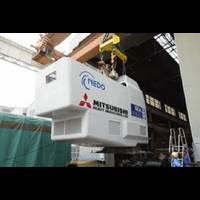 MHI's NewTurbine Nascelle: Photo credit MHI