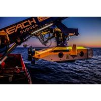 MMT's Surveyor Interceptor ROV is equipped with Sonardyne's SPRINT INS system to improve the accuracy of high speed pipeline inspections and surveys. (Photo: Sonardyne)